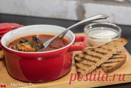 Как приготовить красный борщ рецепт | MaxMenu.Ru - Кулинарные рецепты