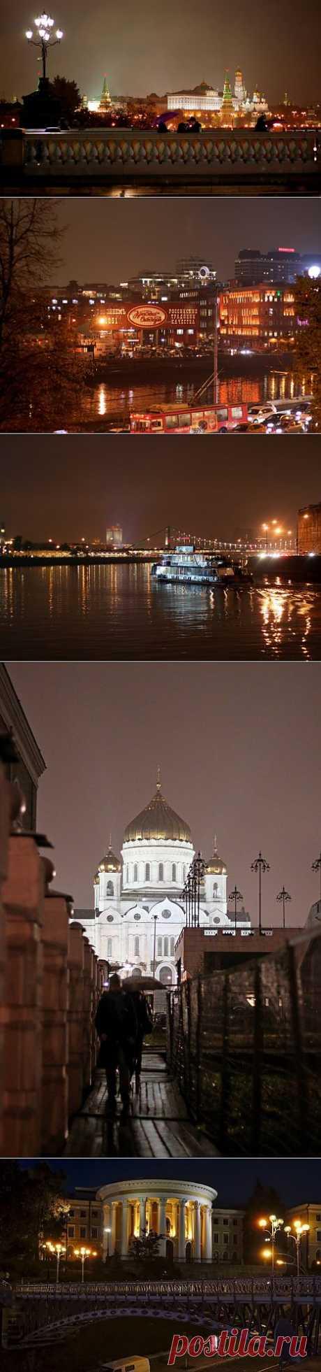 (+1) тема - Дождливый вечер в Москве... | Фотоискусство