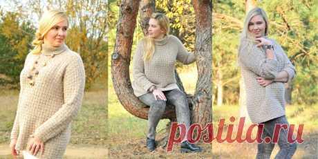 Свободный кашемировый пуловер Forest Walk