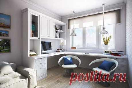 Рабочее место в гостиной: способы и варианты на 108 фото
