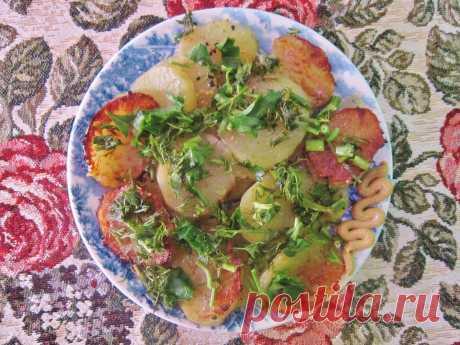 Оригинальный рецепт приготовления жареной кортошки, теперь картофель готовлю только таким способом   О вкусной и здоровой пище   Яндекс Дзен