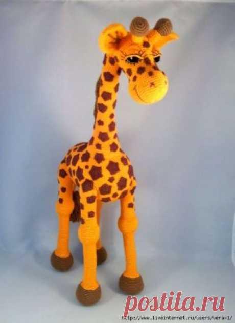 Жираф от Háčkování s Halline