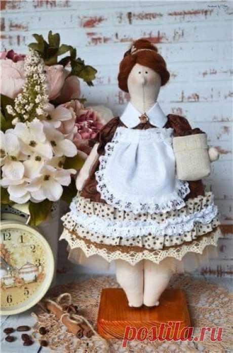 Кукла Тильдa-пышка