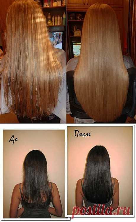 Как сделать домашнее ламинирование волос? | Фемина