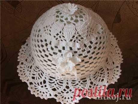 Панамка крючком » Ниткой - вязаные вещи для вашего дома, вязание крючком, вязание спицами, схемы вязания