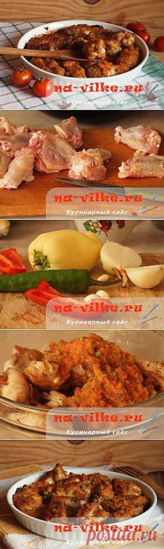 Курица в остром соусе пири-пири по рецепту Джейми Оливера