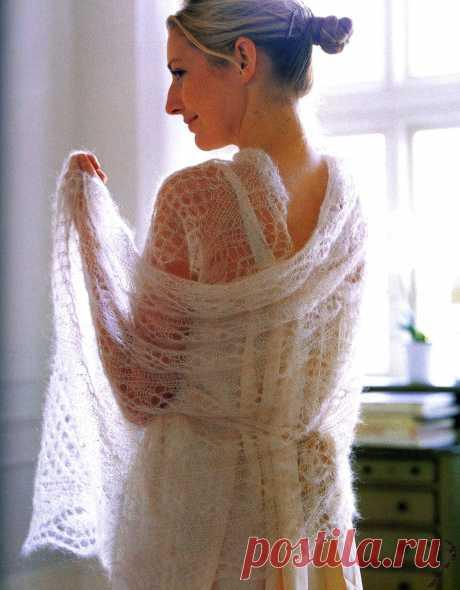 Палантин «Анизетта»| Шали, палантины и шарфы