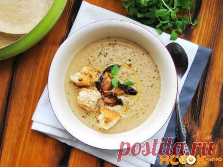 Крем-суп из белых грибов – рецепт с фото приготовления со сливками