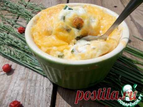 """Завтрак """"Яйца в сыре"""" - кулинарный рецепт"""