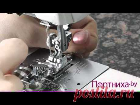 Instructions to pads for sewing machines
