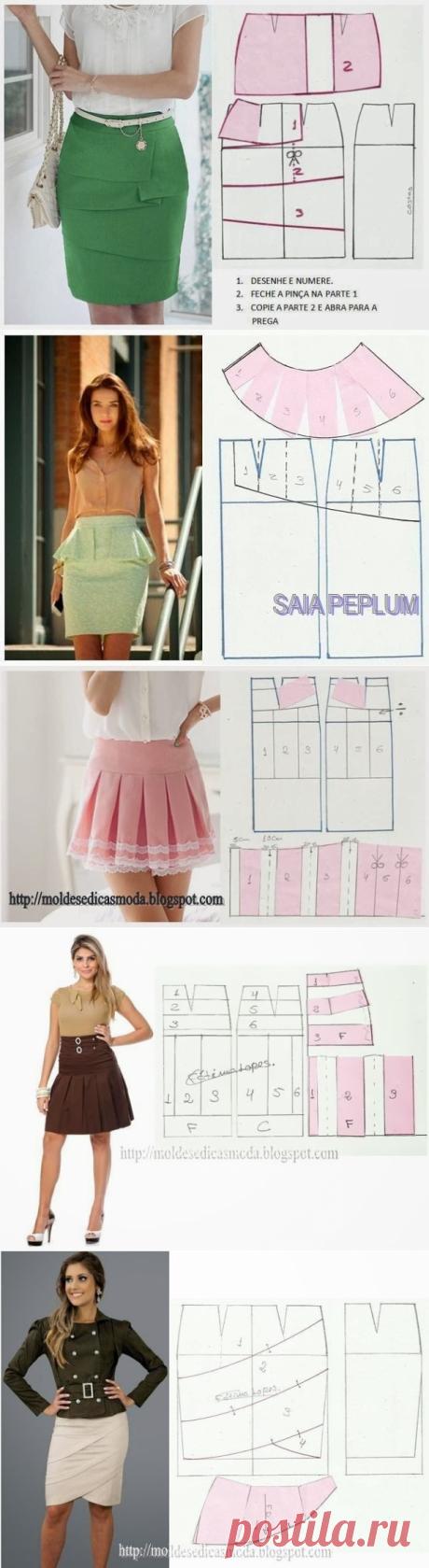 Моделирование женских юбок для лета — Сделай сам, идеи для творчества - DIY Ideas