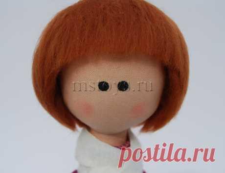 Как сделать кукле волосы. Волосы для куклы своими руками :: MSToys.ru