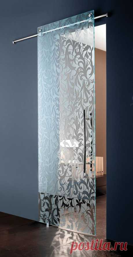 Стеклянные двери / Интерьер / дизайн / Pinme.ru