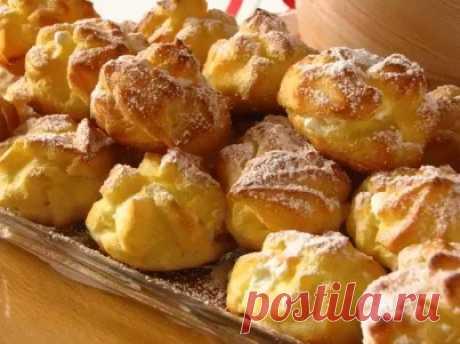 Восхитительные заварные пирожные «Профитроли» — СОВЕТ !!!
