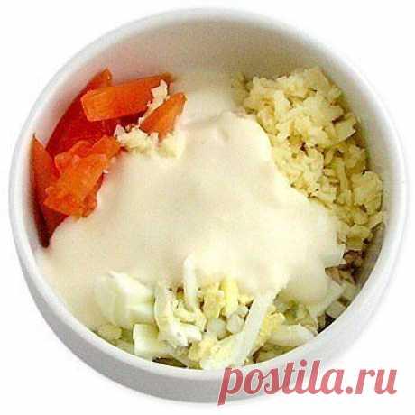 10 рецептов мини-салатов: очень легкие и быстрые   Вкусные рецепты