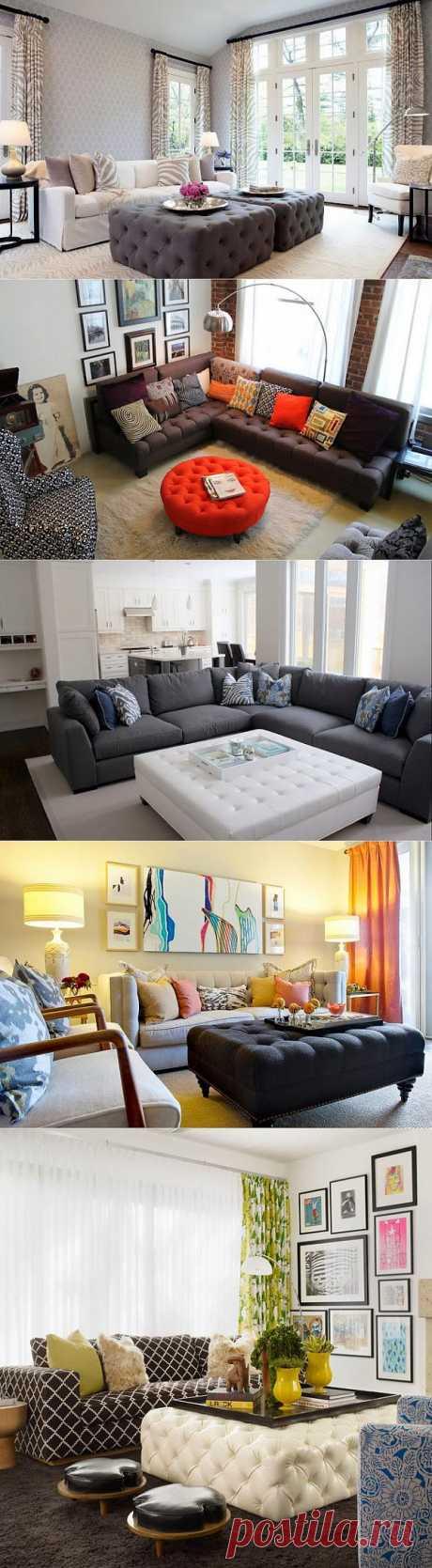 Оттоманка в интерьере: 7 способов использования ~ Sweet home