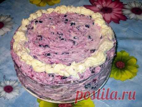 """Обалденный торт """"Ву-зет"""" с нежной кислинкой! Самый простой и вкусный домашний торт!"""