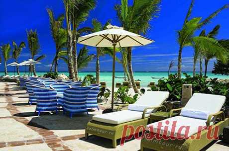 Карибские острова - Доминикана! В Доминиканской Республике прекрасно развита туристическая инфраструктура, практически все отели работают по полюбившейся россиянам системе «всё включено».  Отдых в этой стране считается элитным, ведь Доминикана – поистине уникальная страна, обладающая великолепными пейзажами: высокие живописные горы, карибские пляжи с мягким белым песком, чистейшая вода лазурного оттенка, вечнозеленые тропики…