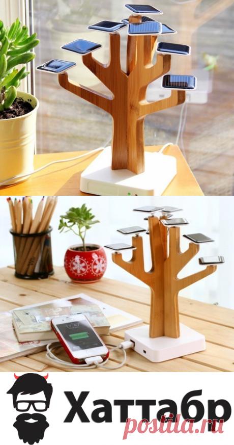 Suntree солнечное зарядное устройство: Вдохновленное природой | Хаттабр.Ру