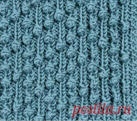 Узор «Час пик» - схема вязания спицами. Вяжем Узоры на Verena.ru