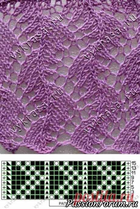 Схемы для палантина - запись пользователя yfnfkmz (Наталья) в сообществе Вязание спицами в категории Вязание спицами аксессуаров