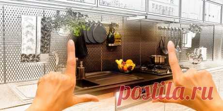 Каким должен быть дизайн маленькой кухни: работающие советы и интересные фото Разместить всё необходимое на нескольких квадратных метрах и не готовить потом в захламлённом чулане — задача не из лёгких. Но у неё есть масса решений.