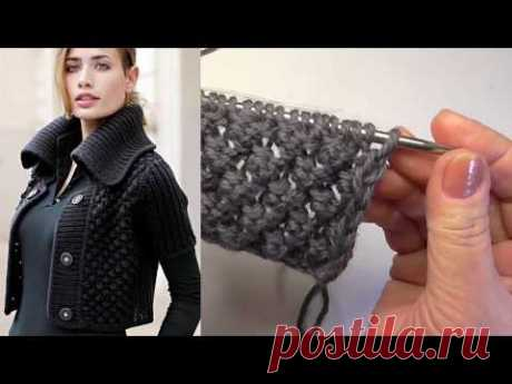Pattern spokes ASTRAKHAN FUR Very simply and beautifully