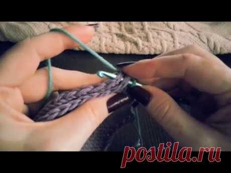 Как сшивать вязаные изделия. КРЮЧКОМ! Идеальный машинный шов! - YouTube