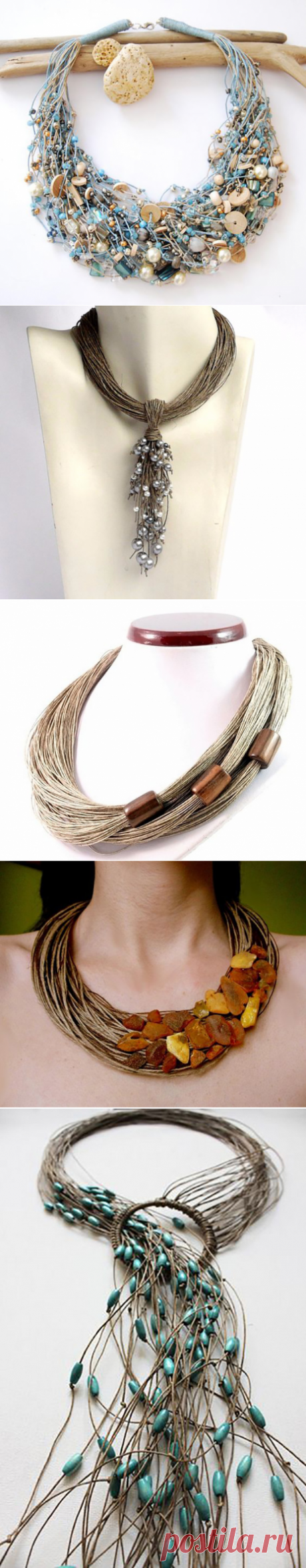 Ecostyle - flax and beads