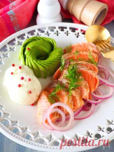[Морское пиршество с лососем] Пюре из авокадо от Акико Мичизоэ  | Сайт рецептов Надя | Надя-Вкусные рецепты профессиональных поваров