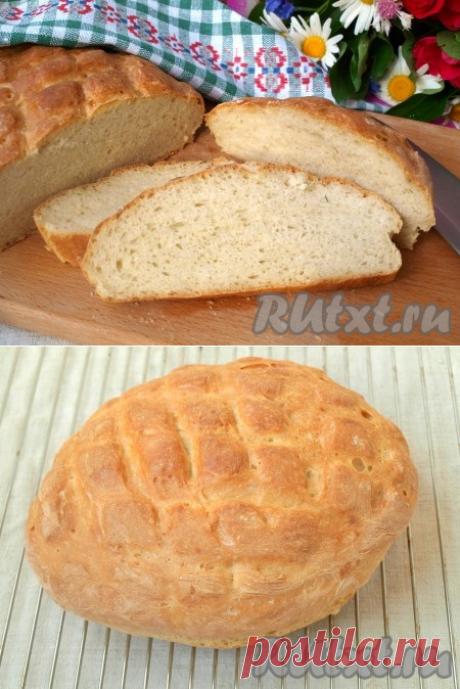 Быстрый домашний хлеб - рецепт с фото