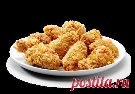 Рецепт, как приготовить крылья из KFC в домашних условиях. Необходимые ингредиенты. Пошаговое руководство для приготовления крылышек с фото и видео.
