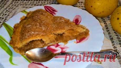 Яблочный пирог который во рту тает 🍩 | Рецепты от Димки | Яндекс Дзен