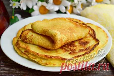 Капустные блинчики, рецепт с фото пошагово Рецепт с фото пошагово покажет весь процесс приготолвения капустных блинчиков из сырой капусты. Такие блины можно подать на завтрак или перекус.