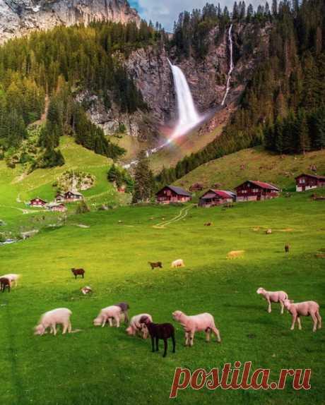 Перевал в Швейцарии