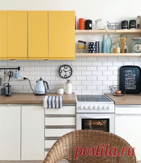 Как старому кухонному гарнитуру дать новую жизнь