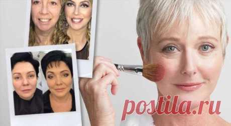 Антивозрастной макияж ДОи ПОСЛЕ: как помолодеть на15 лет . Милая Я