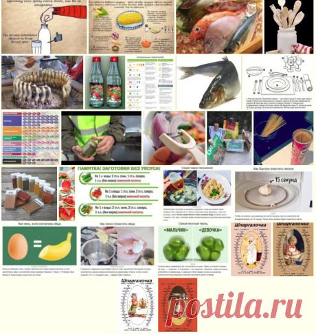 """Gallery.ru / Vladikana - Альбом """"Полезные советы в кулинарии"""""""