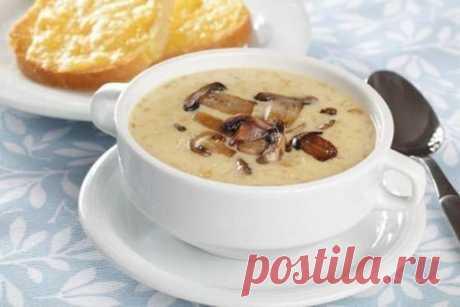Сырный суп с грибами | Don Аппетит