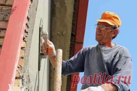 El estuco para la fachada: los tipos y la tecnología del trazado