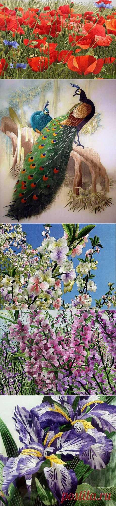 (+1) - Искусство сучжоусской вышивки | Искусство