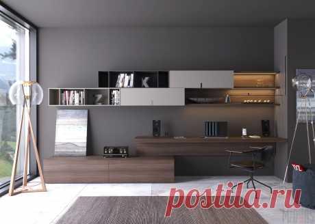 компьютерный стол в гостиной в современном стиле фото: 2 тыс изображений найдено в Яндекс.Картинках