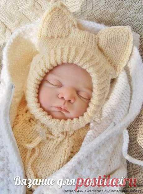 """Шапка-шлем """"Лисенок Вук"""" на малыша Чудесная шапка-шлем защитит и украсит вашего малыша! РАЗМЕР: на 3-6 (12-18) месяцев"""