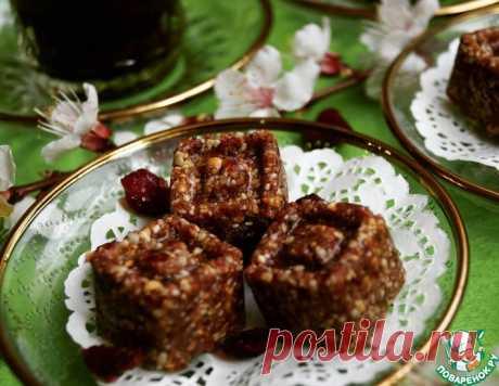 Халва подсолнечная с клюквой – кулинарный рецепт