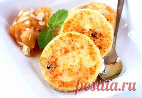 Вкуснейшие сырники с румяной корочкой: вкусный завтра за 20 минут