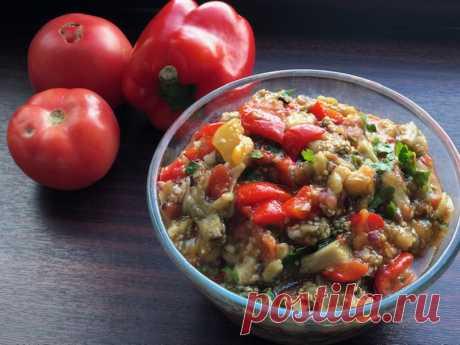 Расскажу, как приготовить в духовке наивкуснейшее блюдо из овощей «Аджапсандал». На Кавказе — популярно везде - Ваши любимые рецепты - медиаплатформа МирТесен