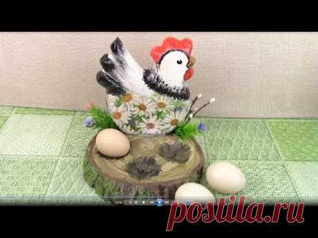 Подставку для яиц делаем с нуля/ DIY Stand for eggs. ХоббиМаркет