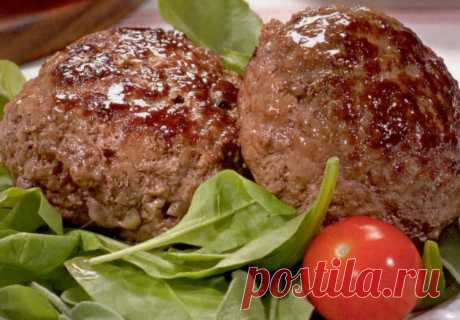Recipe of cutlets from forcemeat of beef and pork \/ Simple recipes