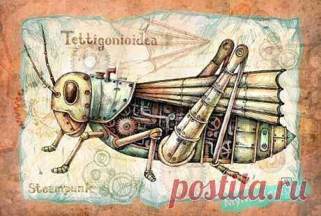(6) Gallery.ru / Фото #13 - Стимпанк и роботы - ledon2014