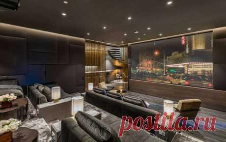 Роскошный дом на Голливудских холмах — Lodgers - Дизайн интерьера